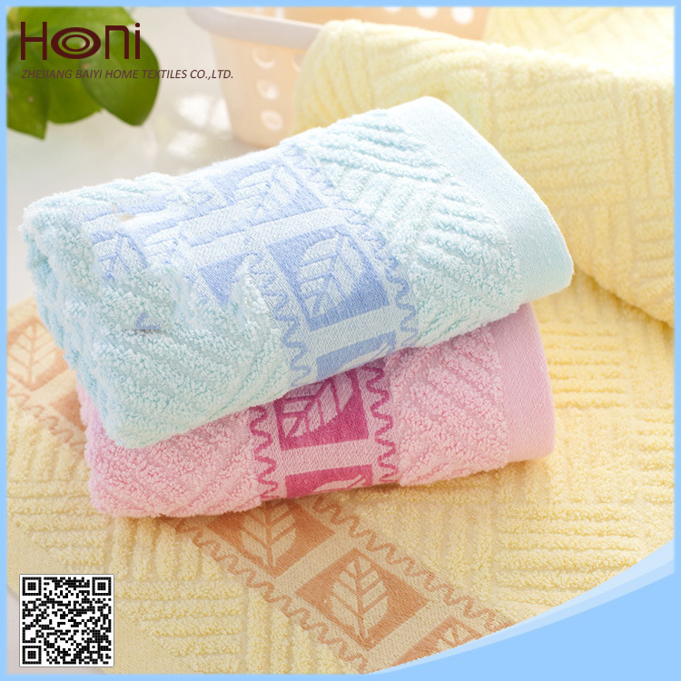High Quality Jacquard Cotton Towel (Model No: FT101201)
