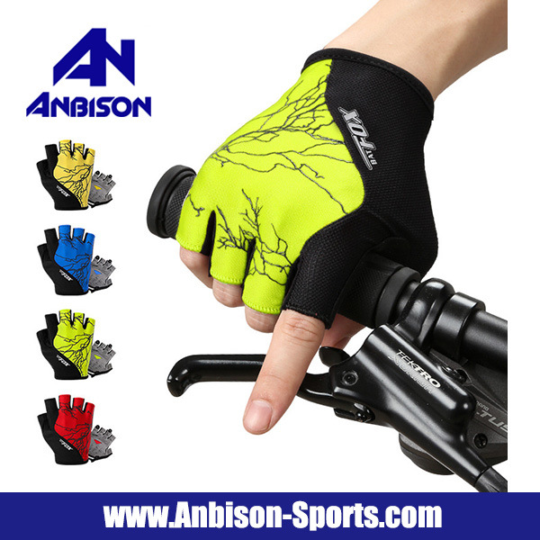 Outdoor Cycling Bikes Moutain Road Half Finger Gloves