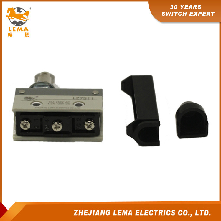 Lema Lz7311 Waterproof Dustproof Panel Mount Roller Plunger Limit Switch