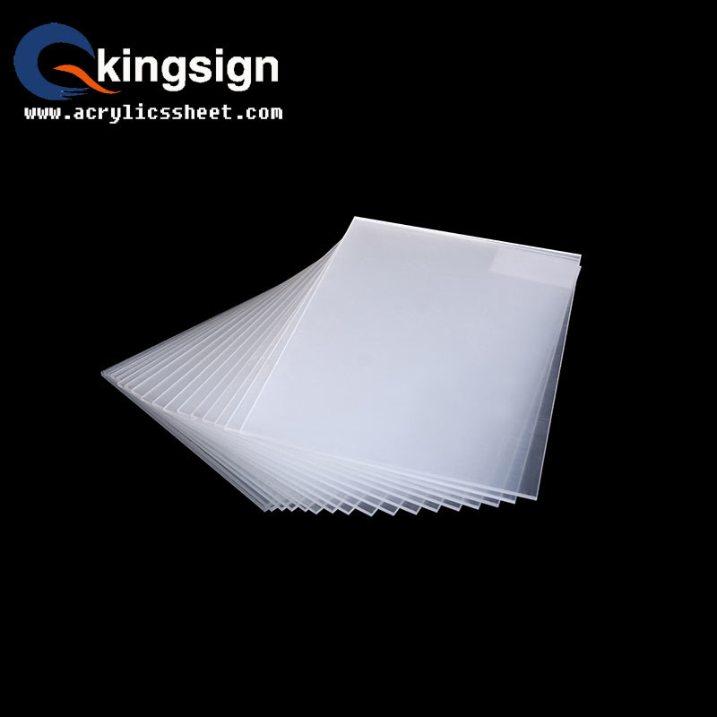 Clear Acrylic Sheet for Painting Size
