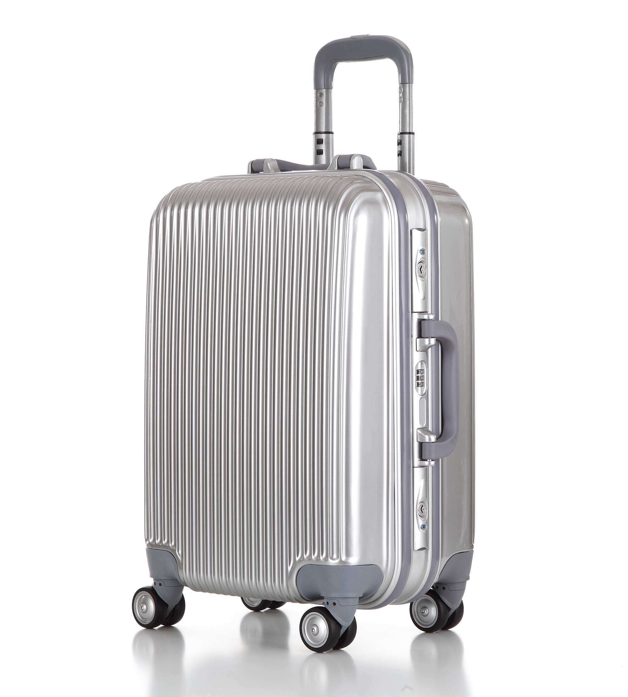 Good Quality New Design Aluminum Frame Travel Luggage (XHAF010)
