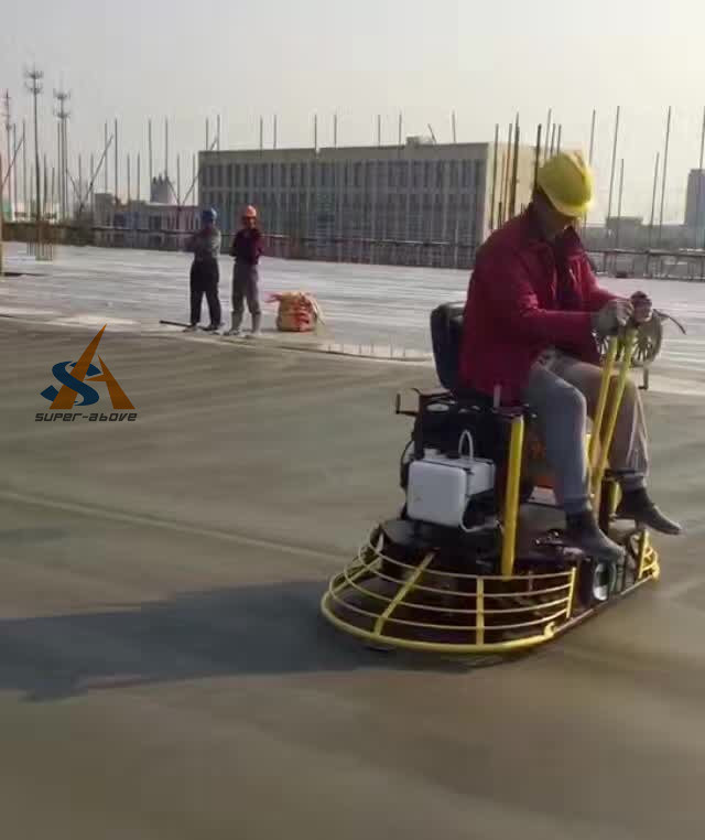 Ride on Trowel Machine, Concrete Ride on Power Trowel, Vibrating Concrete Trowel