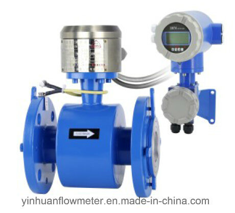 Zd Intelligent Converter Flange Divided Type Electromagnetic Flowmeter