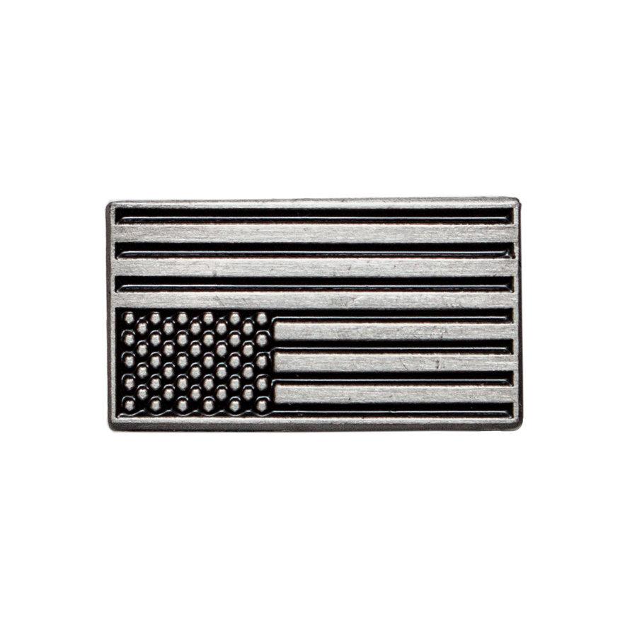 Custom Zinc Alloy Silver Enamel Metal Lapel Pin