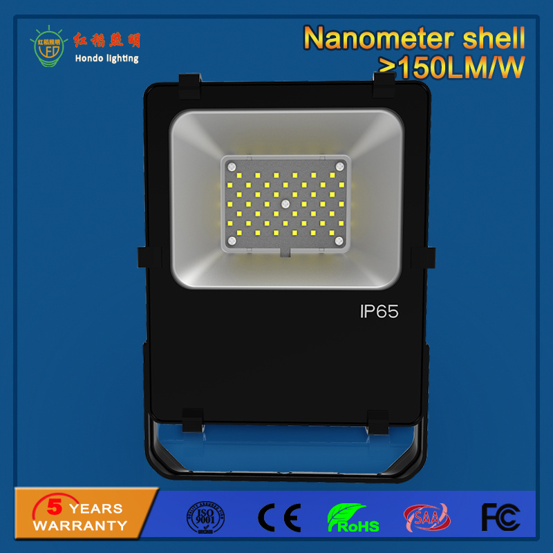 High Power 110lm/W 30W Outdoor SMD LED Floodlight for Building