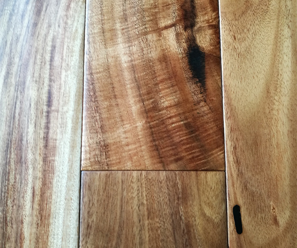 Finished Small Leaf Acacia Flooring /Acacia Natural Wooden Flooring