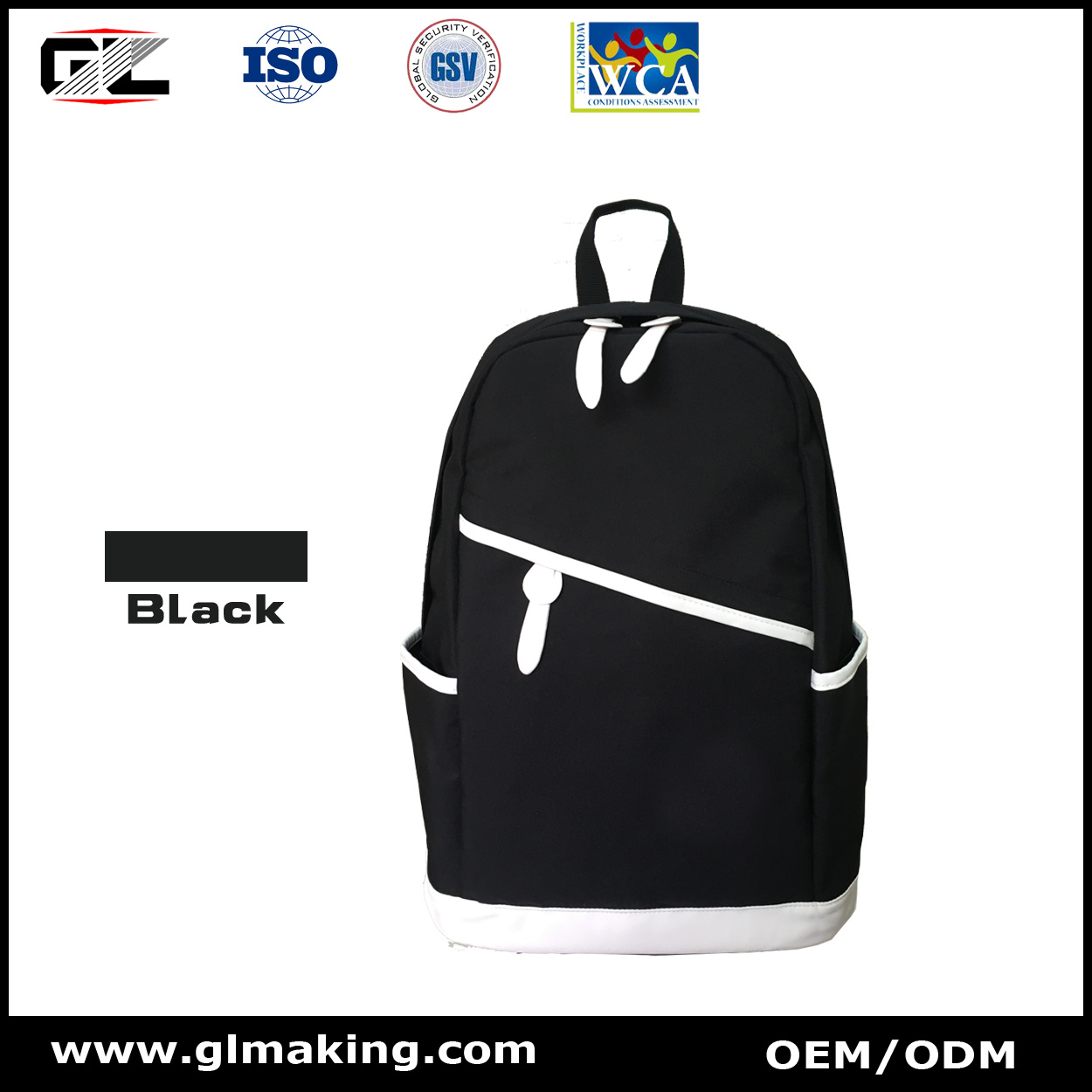 Colorful and Fashion Backpack From Manufacturer