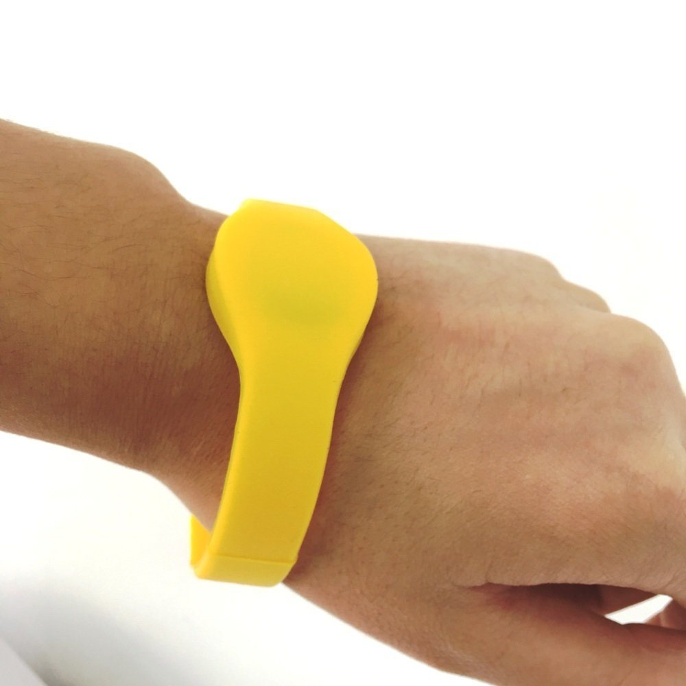 New Product RFID Cheap Silicone RFID USB Silicone Wristband
