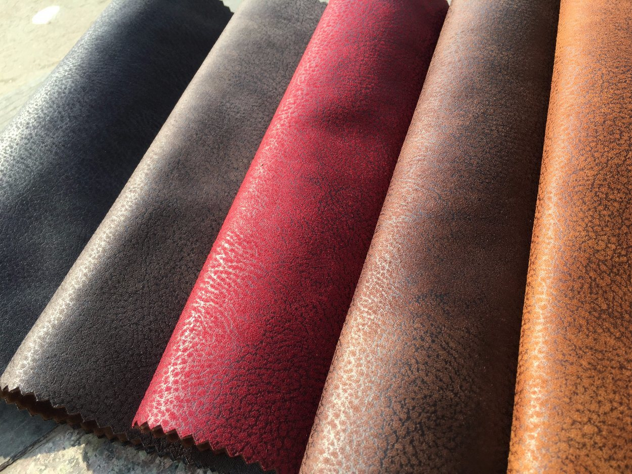 Polyester Fabric Suede Fabric for Sofa Covering (K033)