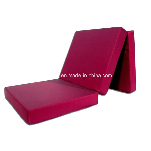 Single Size Memory Foam Folding Mattress with Compressed Vacuum Package