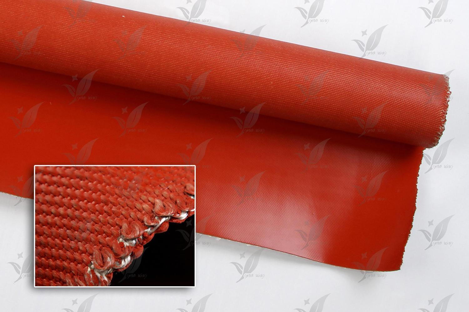 Fluorous Rubber Coated Fiberglass for Fabric Expansion Joint