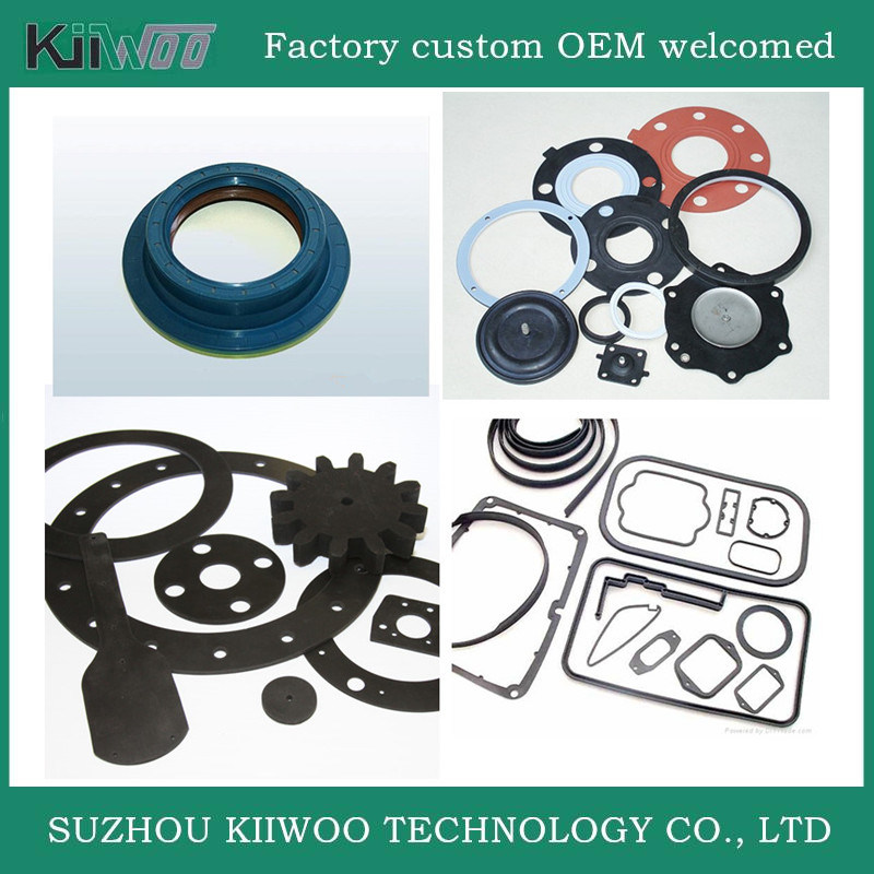 OEM Silicone Rubber Cars Used Molded Auto Spare Parts/ Auto Sealing Gasket