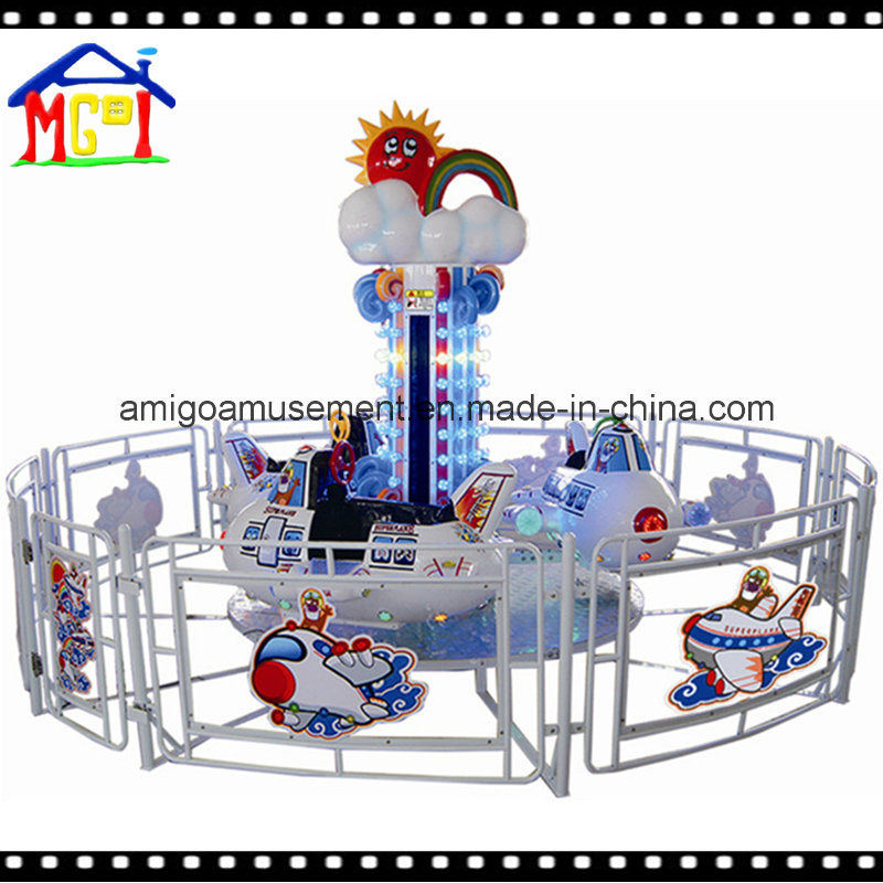 2017 Lifting and Revolving Kiddie Ride Big Eyes Fish Helicopter