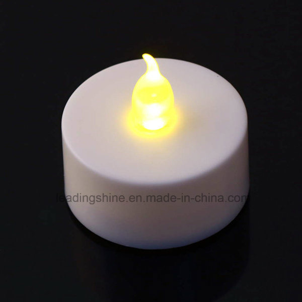 Cr2032 Battery Operated LED Flameless Flickering Tea Light Candles