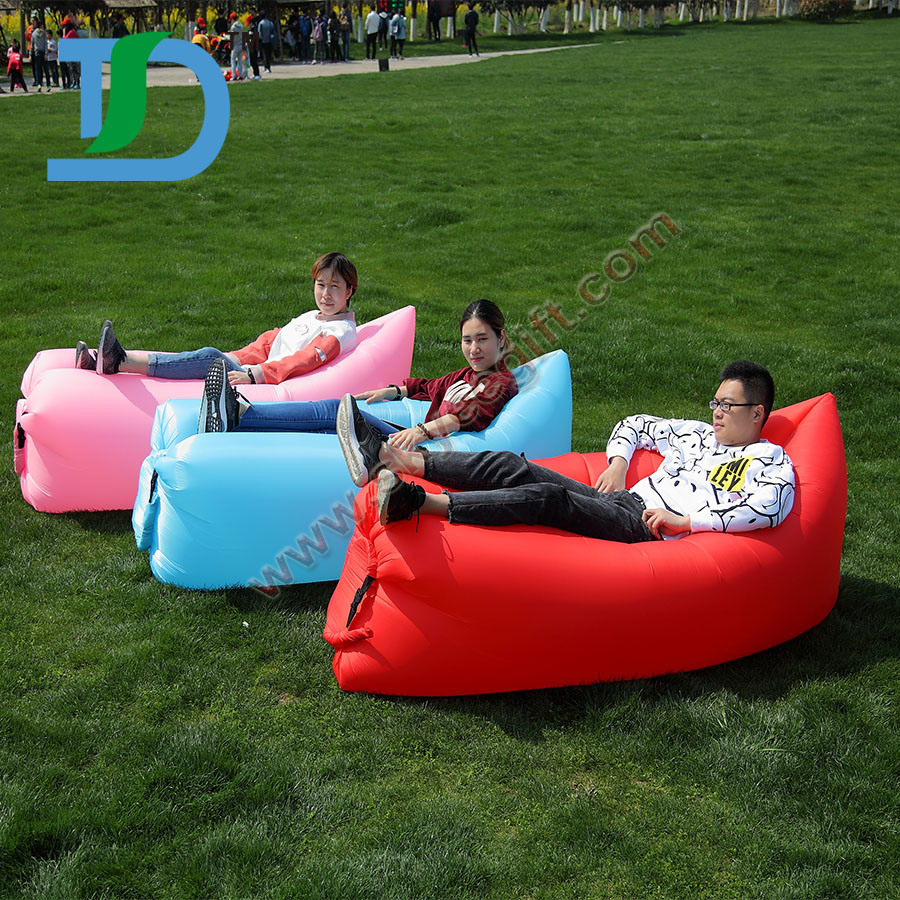 Newest Outdoor Beach Inflatable Air Sleeping Lazy Sofa