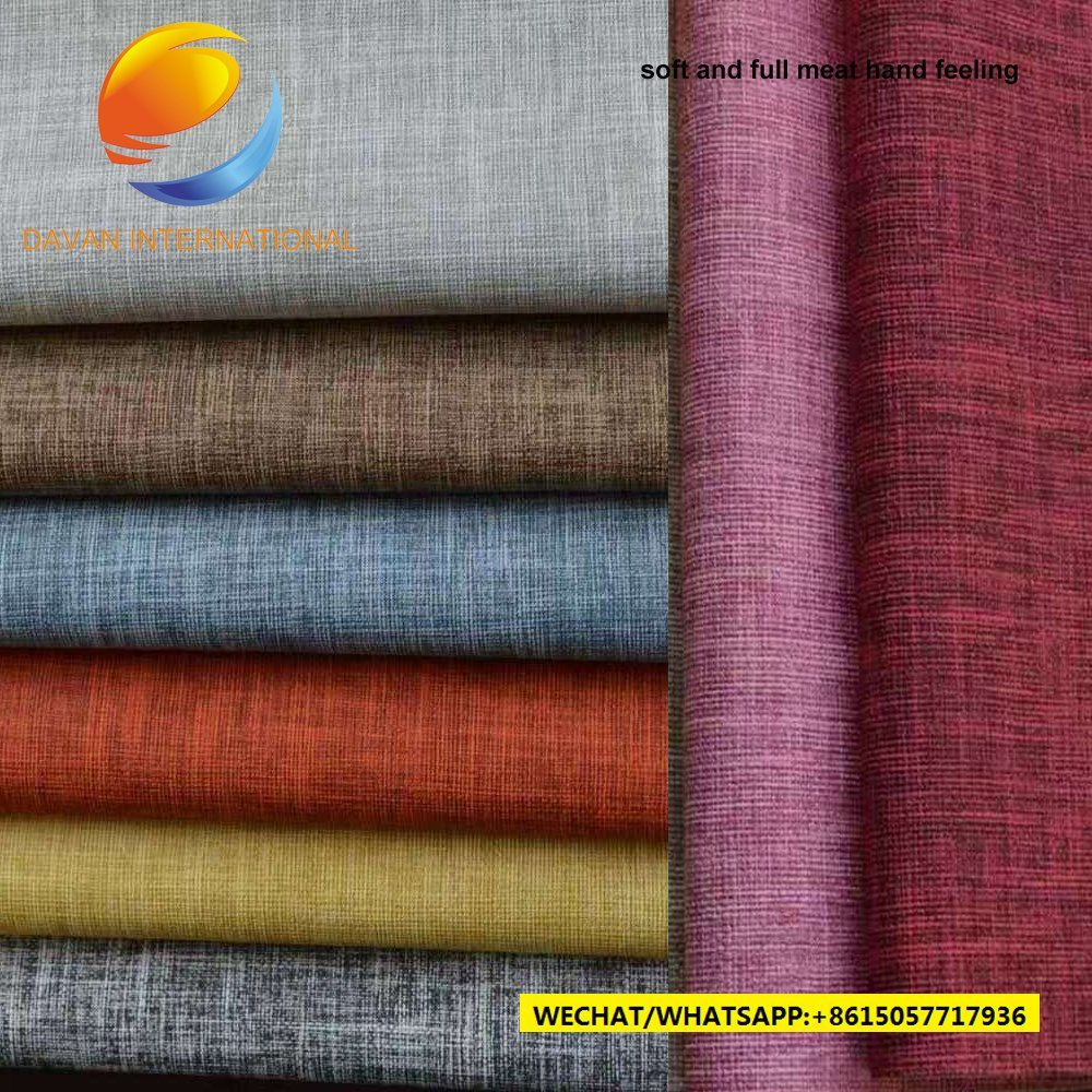High Quality Sofa Fabric of PU Artificial Leather