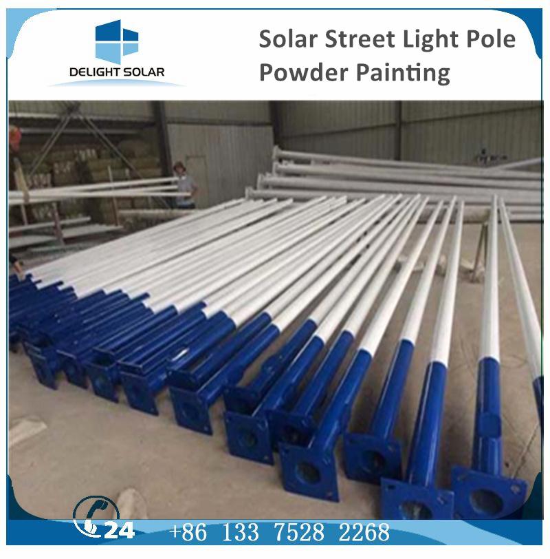 Hot-DIP Galvanized Steel Outdoor Flood Light Solar LED Street Lamp