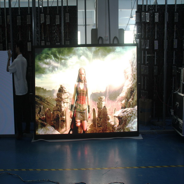 Full Color Indoor Rental P3 Die-Casting Aluminum Moving LED Display Screen