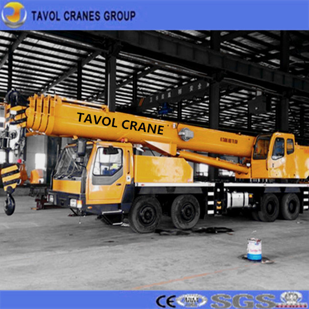 Tavol High Efficiency Construction Machinery Qly 20 Truck Crane with Best Quality for Sales From China