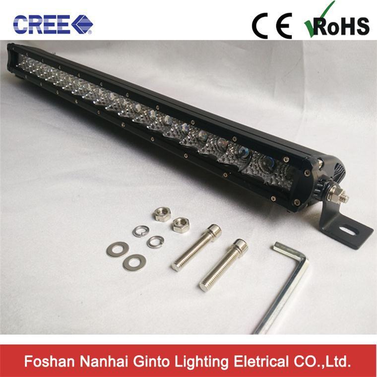 Ginto Slim 22inch Single Row 5W CREE Offroad 4X4 LED Light Bar (GT3510-100W)