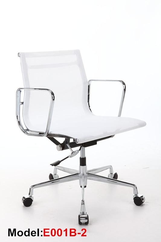 Office Ergonomic Executive Aluminium Eames Swivel Mesh Chair (E001A-2)