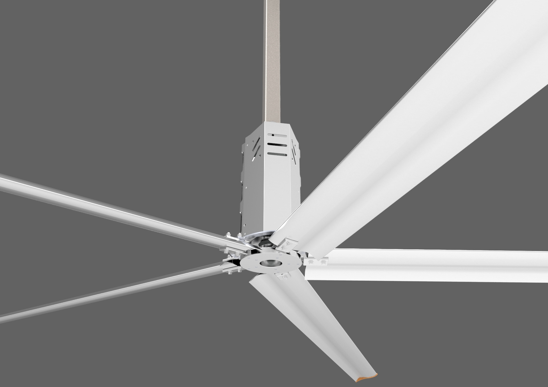 6.2m (20.4FT) Diameter Fan Blades Large Gig Ceiling Fan