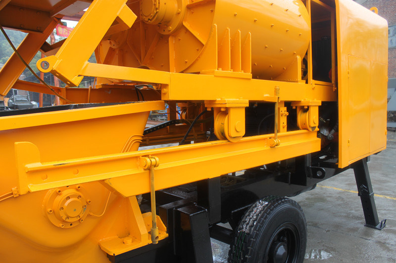 High Efficiency Electric Trailer Concrete Mixer Pump (JBT40-L)