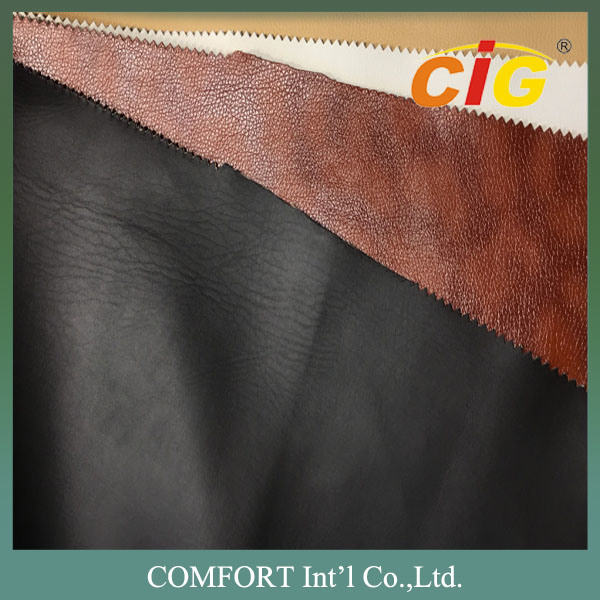 Fashion Design PU Artificial Synthetic Leather for Sofa