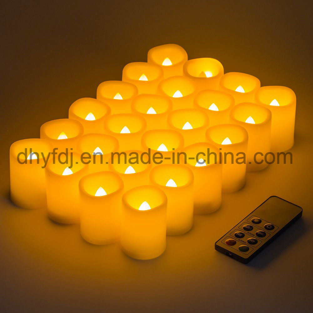 LED Tea Lights with Battery