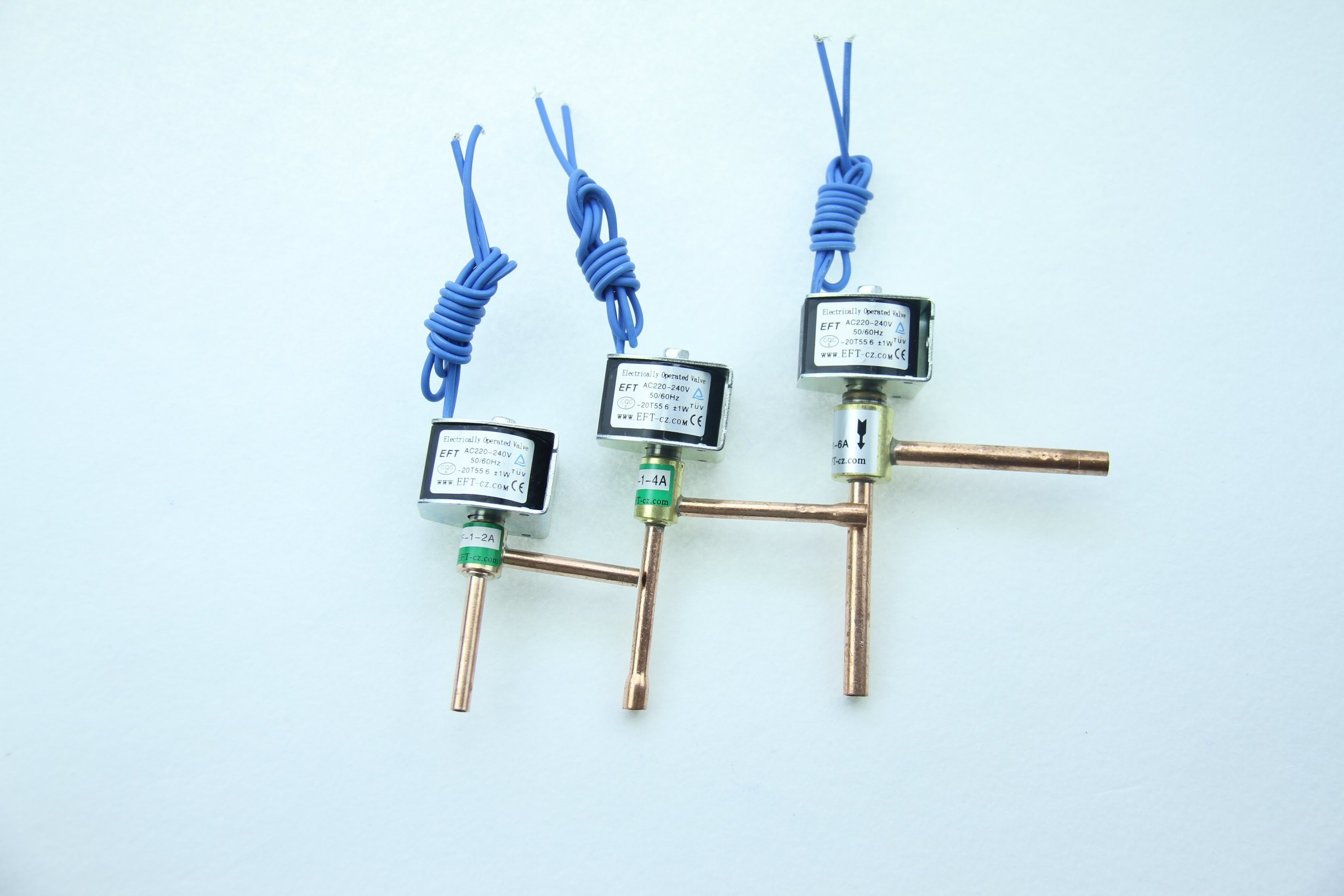China Cheap Solenoid Valve for Refrigeration 220V/24V/12V