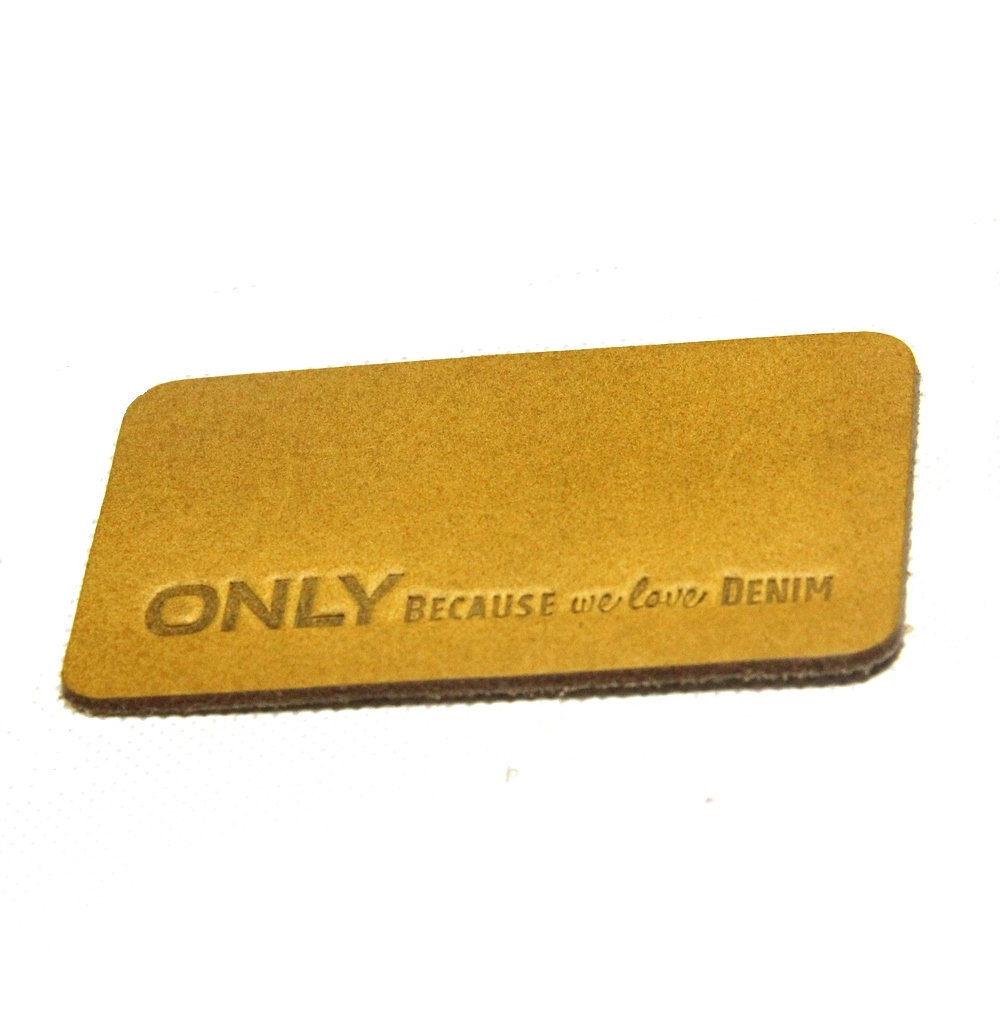 Garments Leather Back Patch Labels for Cloth/Bag/Jeans