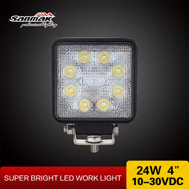 "4"" 24W Crree Offroad High Output LED Work Light"