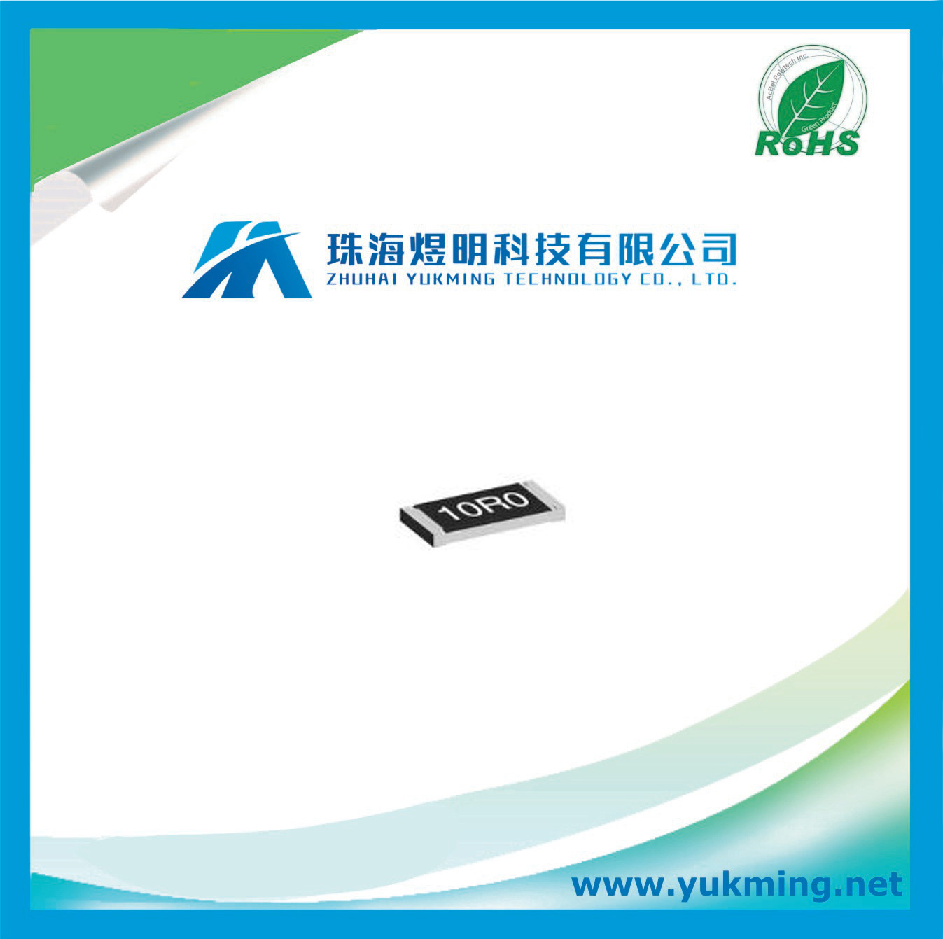 Resistor of Fixed Single Surface-Mount Electronic Component