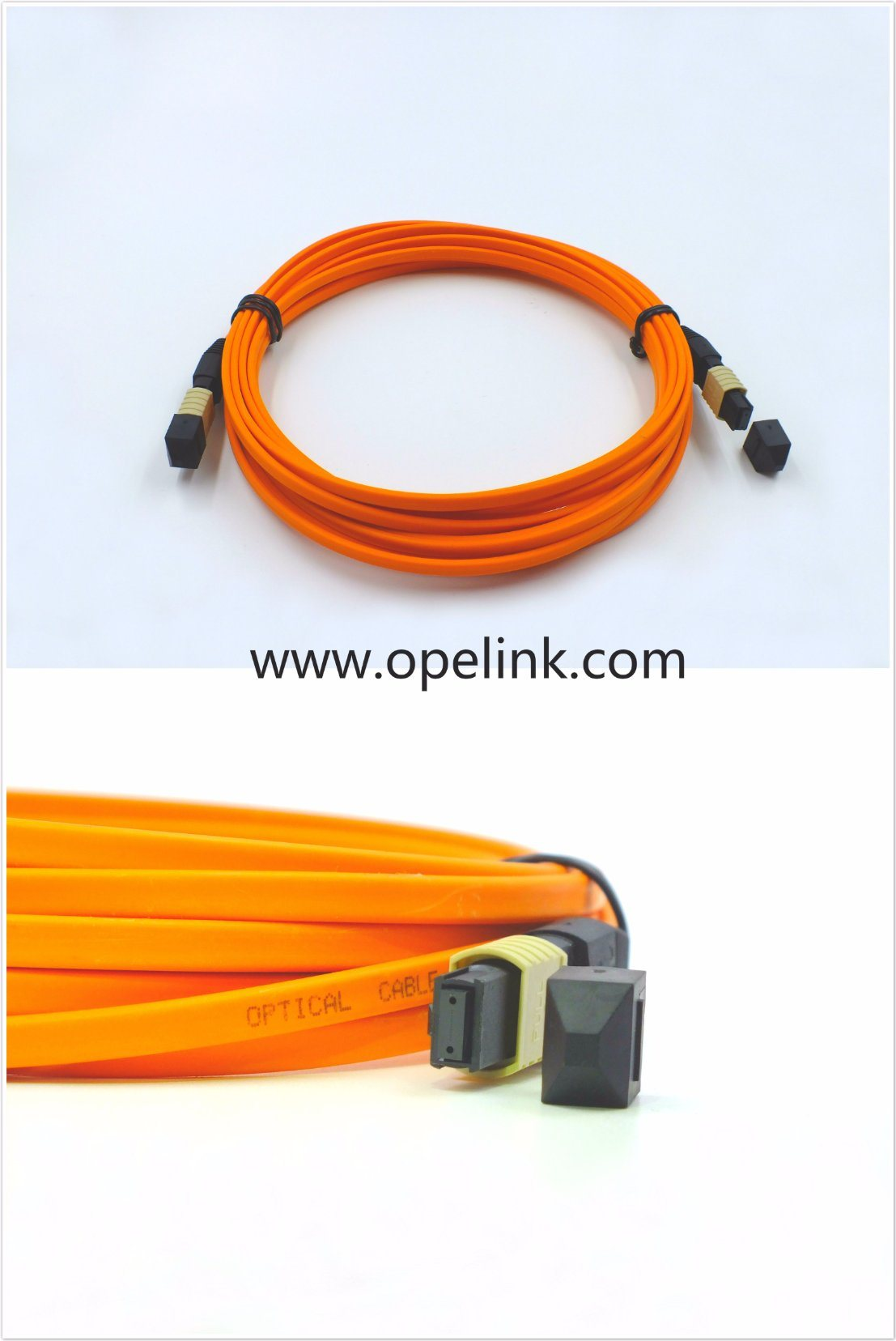 MPO/MTP Fiber Optic Patch Cord Optical LAN /Network Fiber Cable
