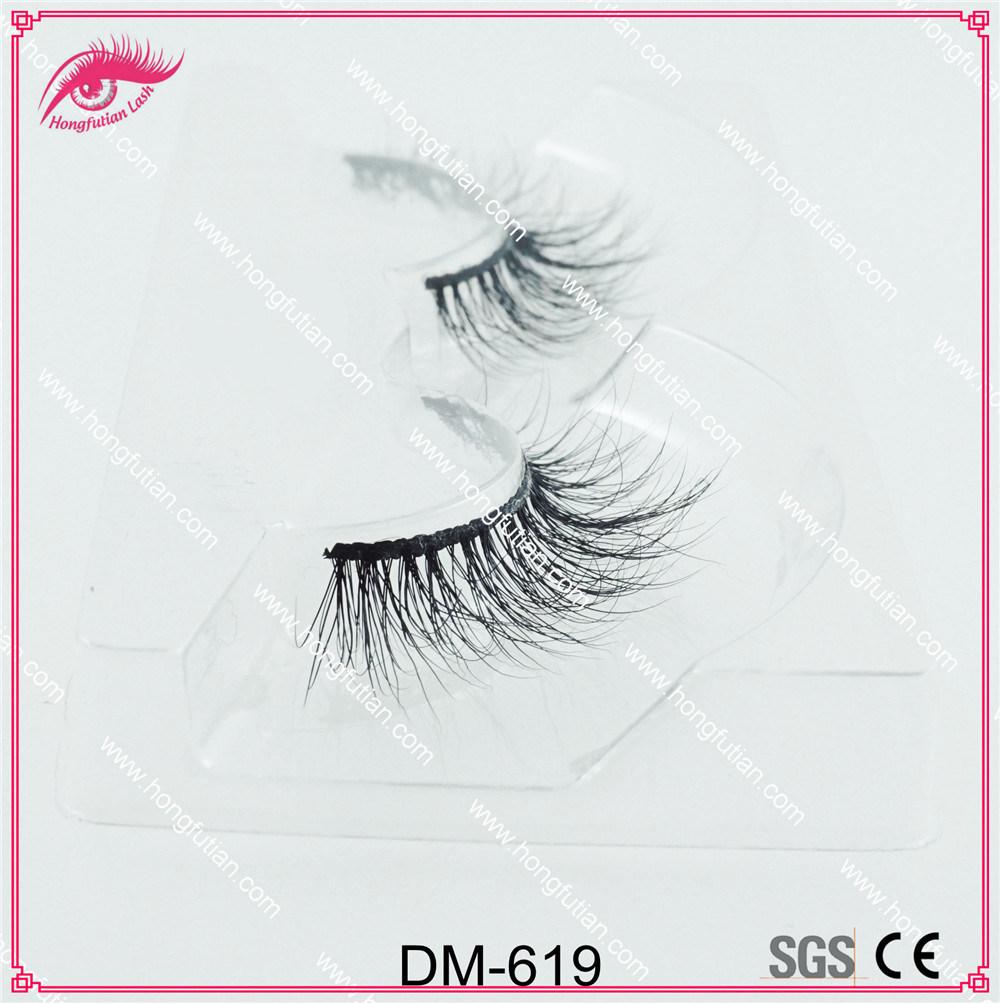 Wholesale Price Mink Wispie Lashes Products Handmade Mink 3D Eyelash