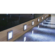 1.8W LED Slim Cabinet Light Brushed/Polished Stainless Steel Material
