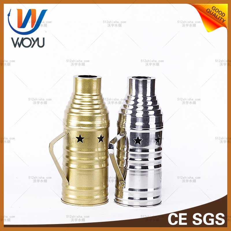 The Latest Stainless Steel Enclosures Wind Device Hookah Smoking Shisha Cover Tool Shisha Hookah Accessories
