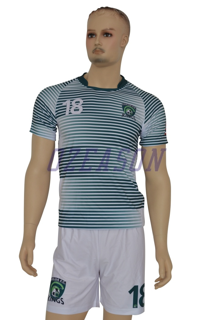 2016 Hot Sale Sportswear Wholesale Customized Men′s Soccer Uniforms (S001)