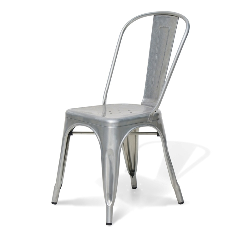 chaise metal tolix toulouse design. Black Bedroom Furniture Sets. Home Design Ideas