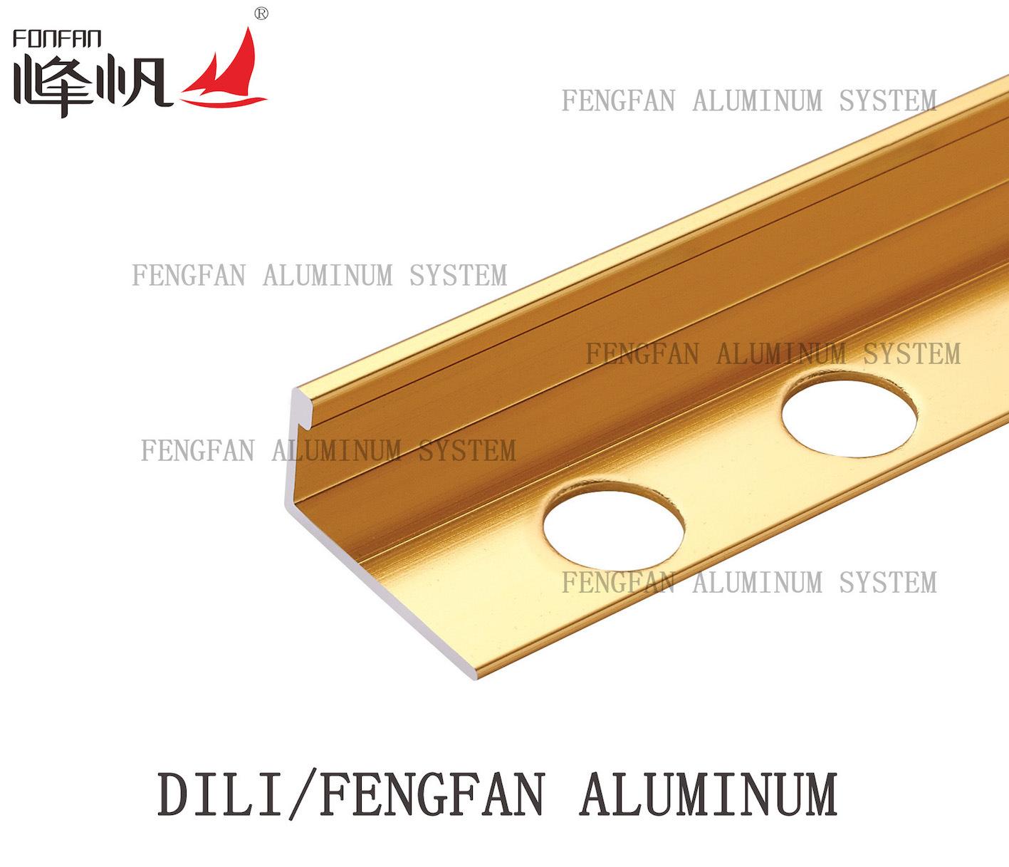 Gold Color Straight Edge Trim