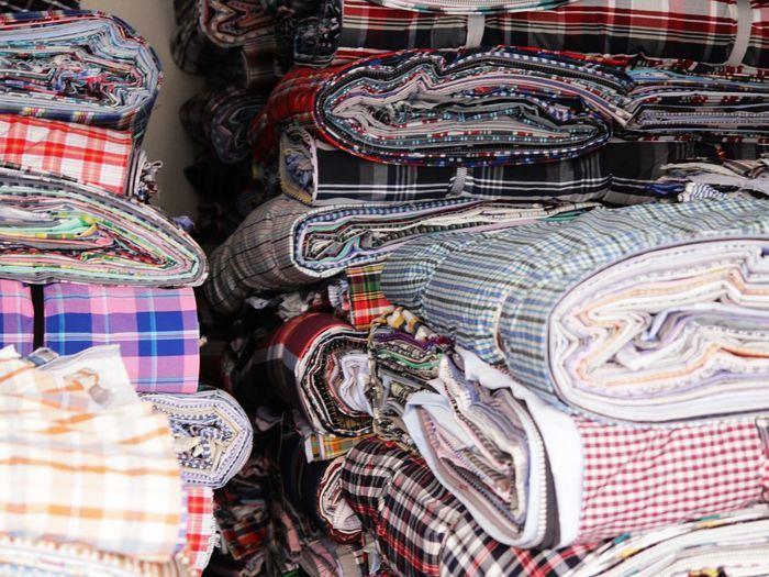 Cotton Shirting Fabric, Stock Lot Shirting Fabric