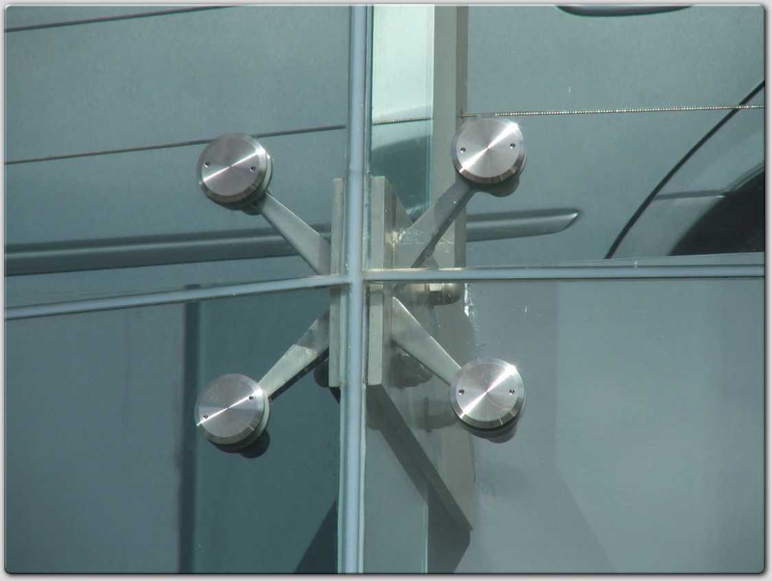 Structural Glass Fittings : China spider fitting stainless steel fittings
