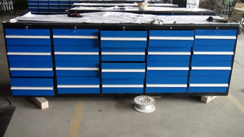 Metal Workbench With Drawers Evaluate Hardware