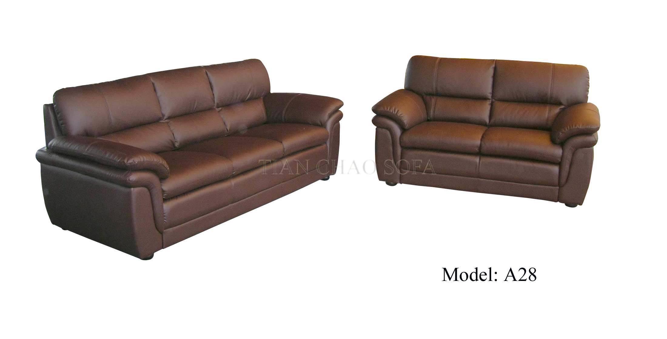 China Leather Sofa (A28) - China sofa, leather sofa