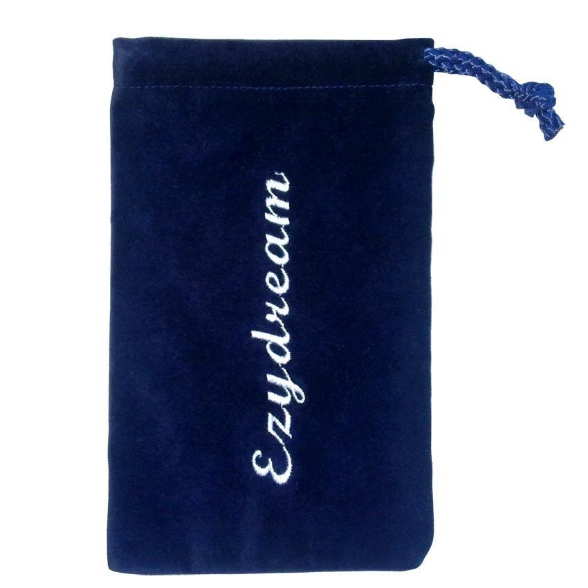 China velvet bag pouch gift drawstring
