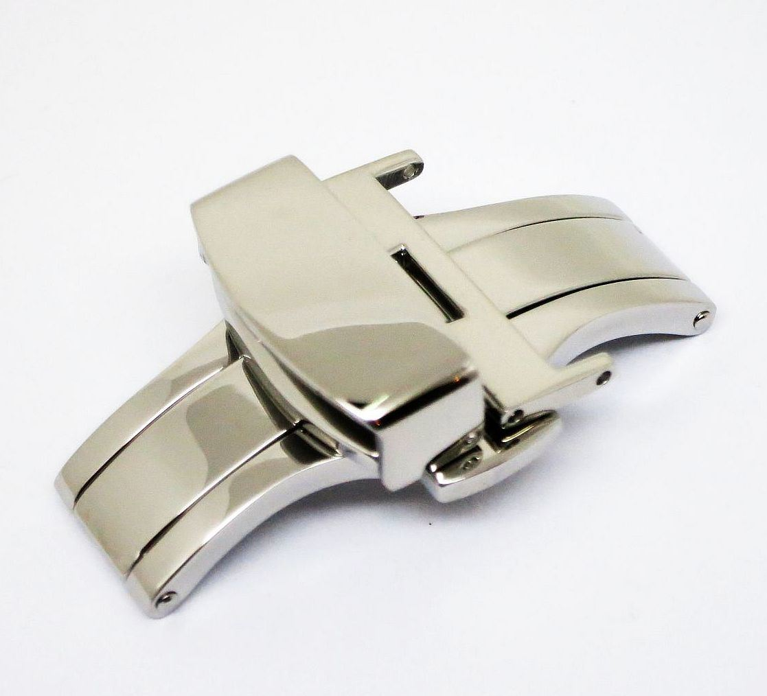 Luxury Leather Strap Watch Buckle