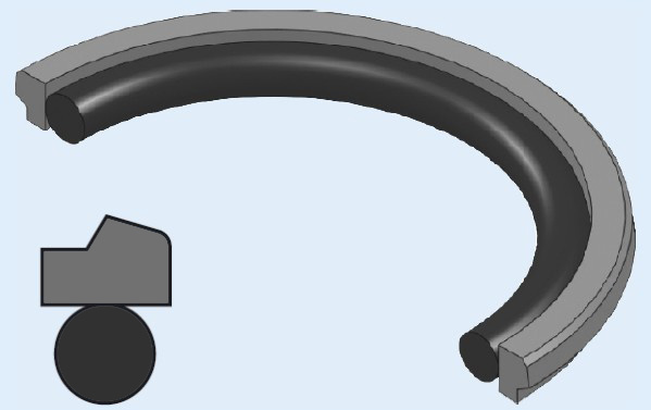 Types Of Piston Seals : China piston seal gsd photos pictures made in