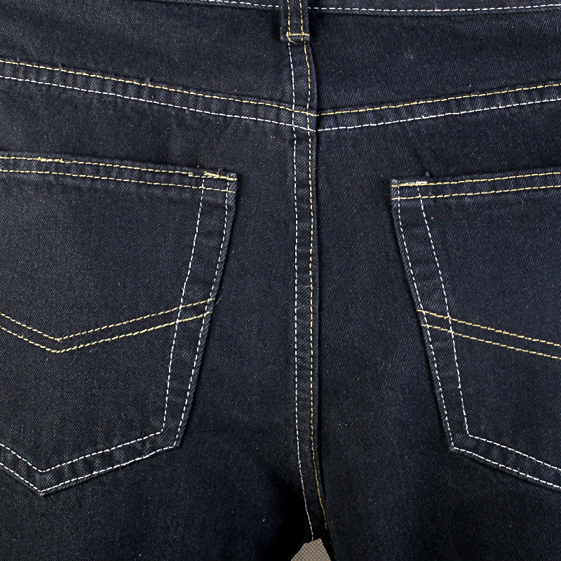 Men Simple 5 Pockets Jeans with Regular Wash (BG02)