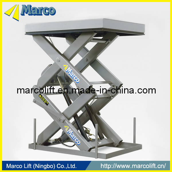 2 Ton Marco High Scissor Lift Table with CE Arrpoved