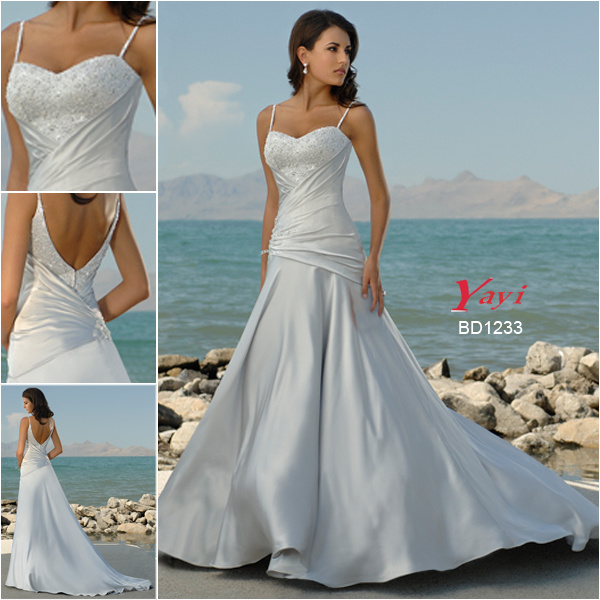 Bridal Wedding Dress Beach Wedding Dress BD1233